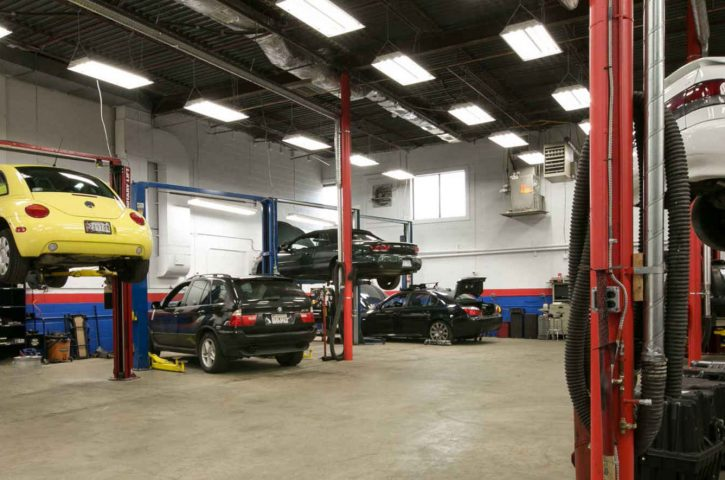 Identifying a reputable car repair garage